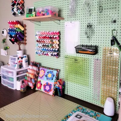 How to Organize Quilt Supplies