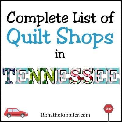 TN quilt shops