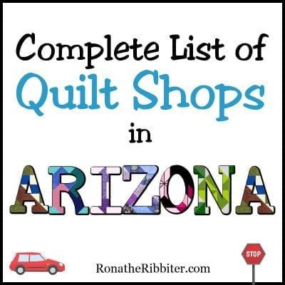 AZ quilt shops