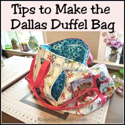 Tips to Make Duffel Bag