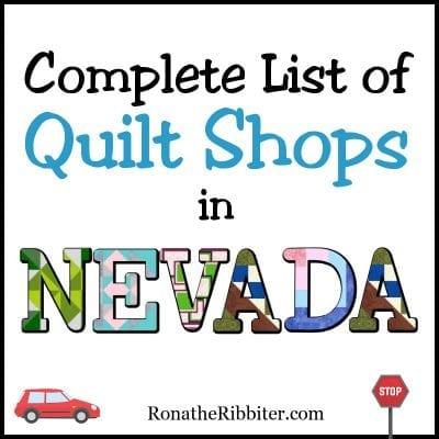 NV quilt shops