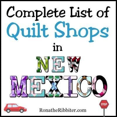NM quilt shops