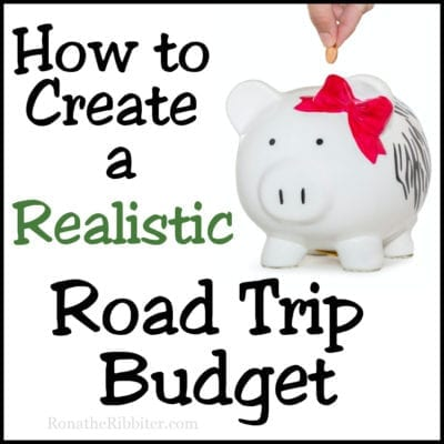 create a road trip budget