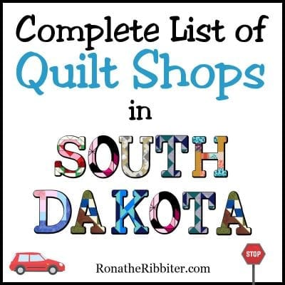 SD quilt shops