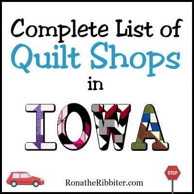 IA Quilt Shops