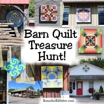 Barn Quilt Treasure Hunt