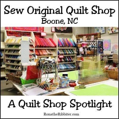 Sew Original boone