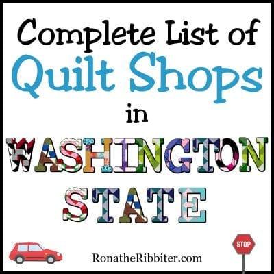 Quilt Shops in Washington