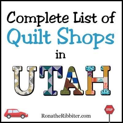 quilt shops in utah