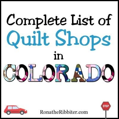 Quilt Shops in CO