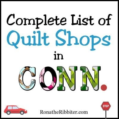CT Quilt Shops