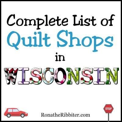WI quilt shops
