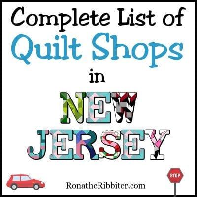 Quilt Shops in NJ