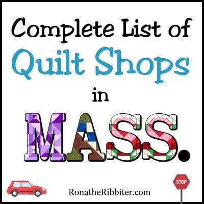 Massachusetts quilt shops