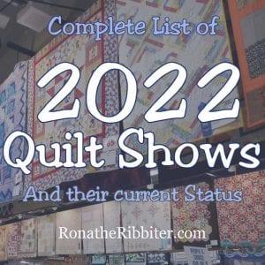 quilt shows 2022