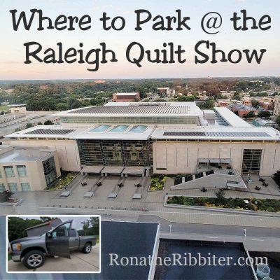 Parking Raleigh Quilt Show
